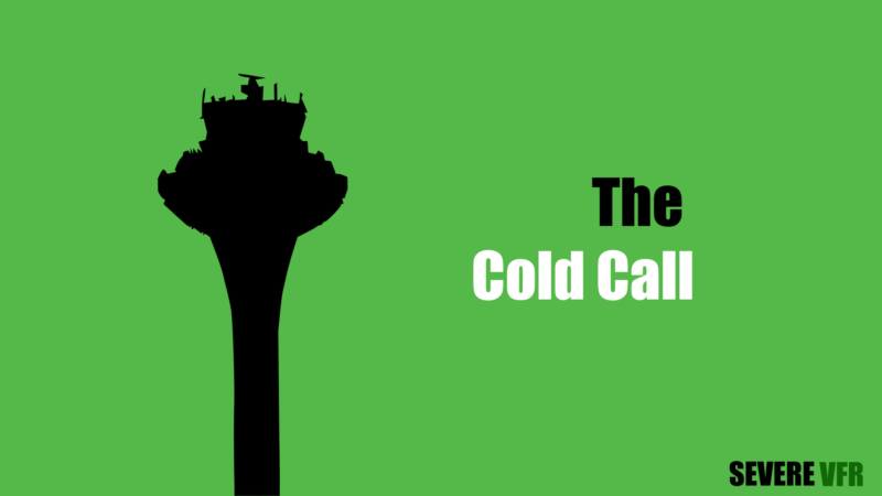 The Cold Call Title Card Featuring A Control Tower