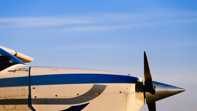 Side image of cessna cowling