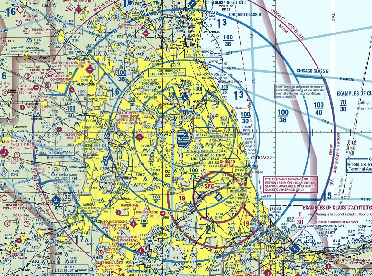 Class B Airspace Map