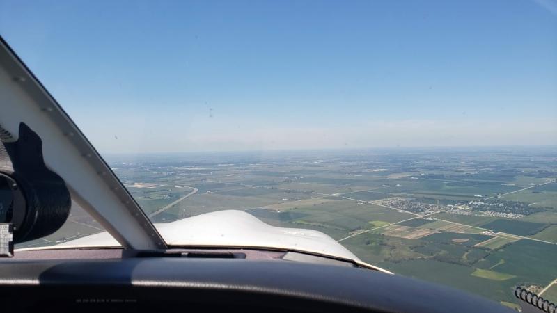 Piper Arrow Co-Pilot Cockpit View