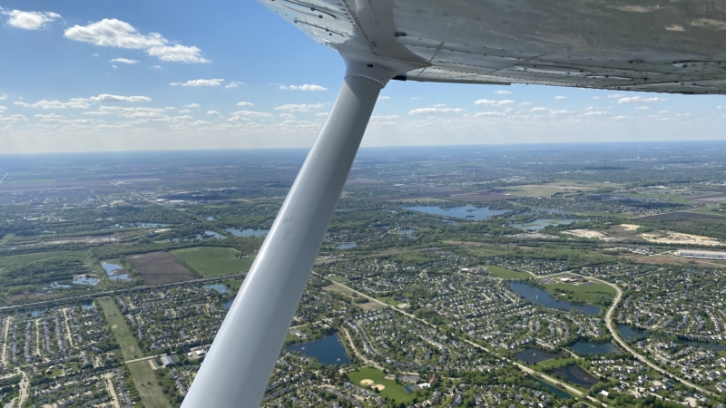 Wing Over Town