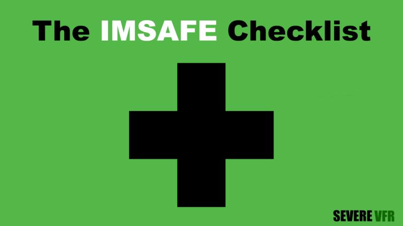 IMSAFE checklist title card