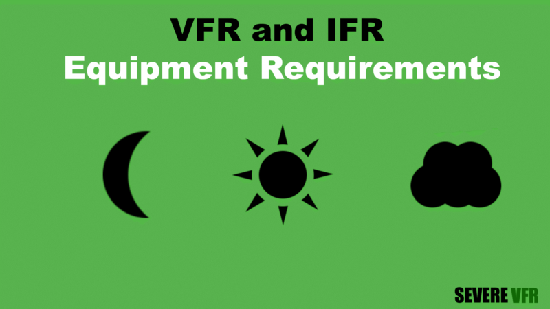 VFR and IFR Equipment Requirements Title Card